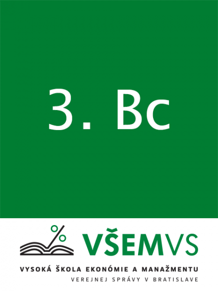 Balíček literatúry pre študentov VŠEMVS - 3. Bc