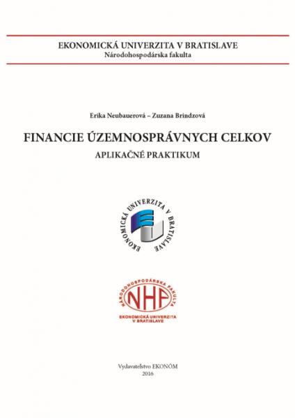Financie územnosprávnych celkov - aplikačné praktikum