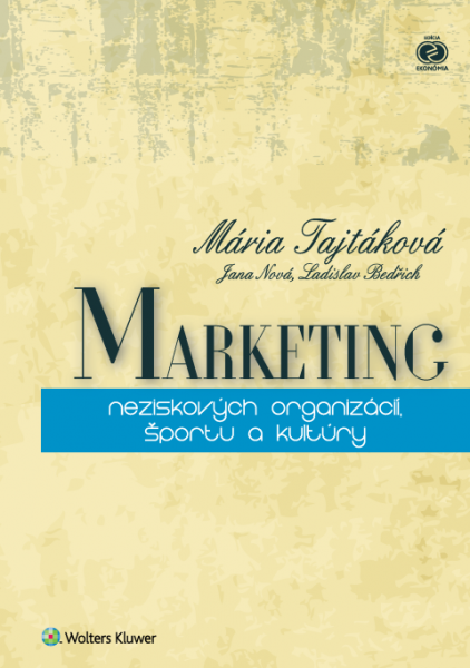 Marketing neziskových organizácií, športu akultúry
