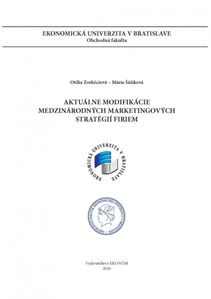 Aktuálne modifikácie medzinárodných marketingových stratégií firiem