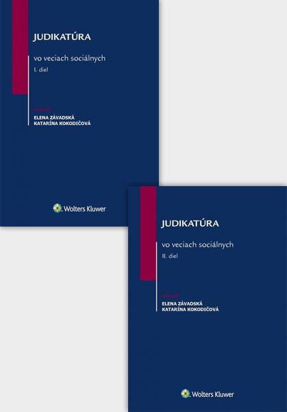 Balíček: Judikatúra vo veciach sociálnych I. a II. diel