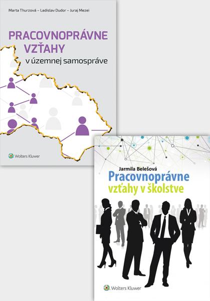 Balíček: Pracovnoprávne vzťahy v školstve a v územnej samospráve