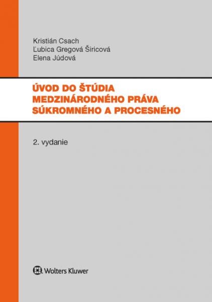 Úvod do štúdia medzinárodného práva súkromného a procesného