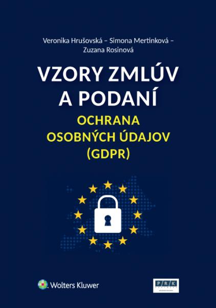 Vzory zmlúv a podaní - ochrana osobných údajov (GDPR)