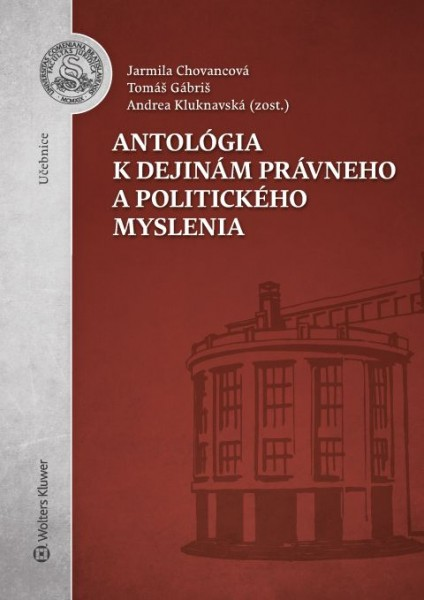 Antológia k dejinám právneho a politického myslenia