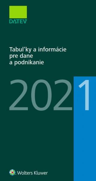Tabuľky a informácie pre dane a podnikanie 2021