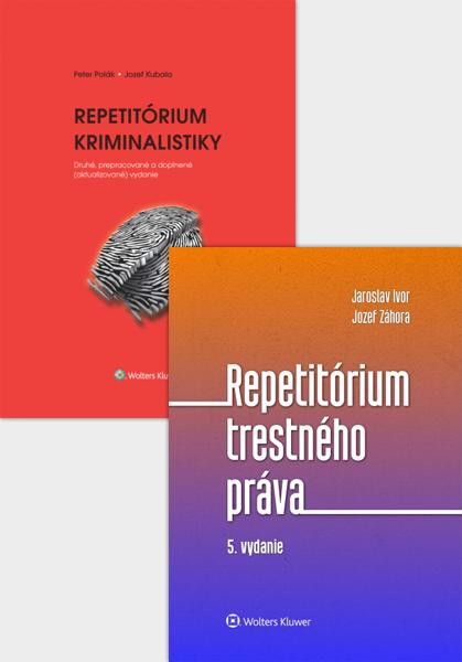 Balíček: Repetitórium kriminalistiky a trestného práva