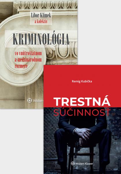 Balíček: Kriminológia a súčinnosť v trestnom práve