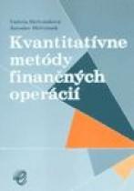 Kvantitatívne metódy finančných operácií