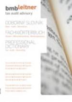Odborný slovník.  Dane – Audit  - Účtovníctvo