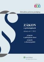 Zákon o priestupkoch účinný od 1. 7. 2012