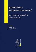 Judikatúra Súdneho dvora EÚ vo veciach verejného obstarávania