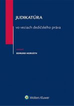 Judikatúra vo veciach dedičského práva
