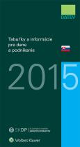 Tabuľky a informácie pre dane a podnikanie 2015