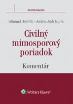 Civilný mimosporový poriadok - komentár