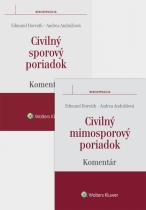 Balíček - Civilný sporový poriadok a Civilný mimosporový poriadok