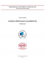 Analýza efektívnosti a produktivity - učebný text
