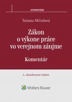 Zákon o výkone práce vo verejnom záujme - 2., aktualizované vydanie