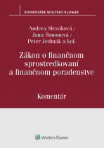 Zákon o finančnom sprostredkovaní a finančnom poradenstve - komentár