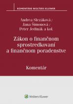 Zákon o finančnom sprostredkovaní a finančnom poradenstve - komentár