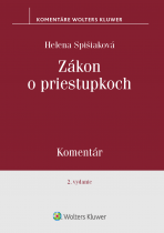 Zákon o priestupkoch - komentár, 2. vydanie